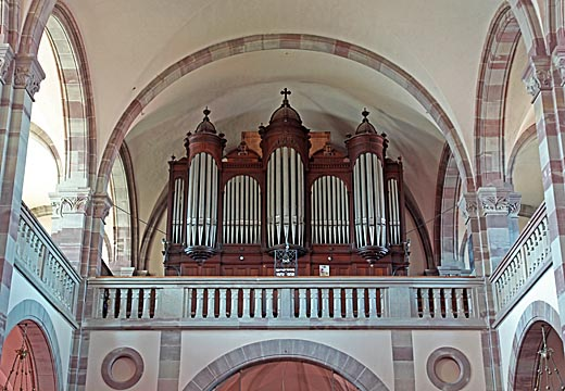 Dambach-la-Ville, le grand orgue Merklin, le 18/08/2014.