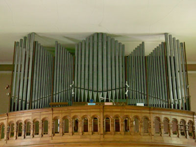 Friesen, l'orgue Schwenkedel.Photo de