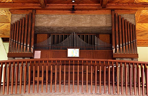 Wickerschwihr, l'orgue Schwenkedel, le 06/08/2012.